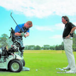 Local Golf Pro Brad Clayton offers a non-judgmental golfing inspiration for military warriors